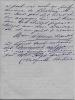 Lettre autographe signée. Julia DAUDET