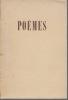 Poèmes. BRASILLACH Robert