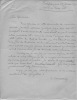 Lettres autographes signées. BOURASSIN Claire