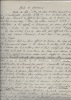Manuscrit autographe signé : Gerbe de souvenirs. VEDEL Émile