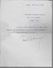 Lettre tapuscrite signée. REBOUX Paul