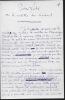 Lettres autographes signées. PILON Edmond