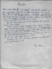 Manuscrit autographe signé. D'ALMERAS Henri