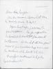 Lettre autographe signée. HENRI-ROBERT