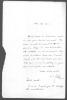 Lettre autographe signée. MILLER Emmanuel