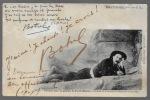 Carte postale autographe signée. BOTREL Théodore