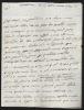 Lettres autographes signées. LESTANG Marquis de
