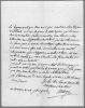 Lettre autographe signée. MORGES Comte de