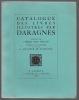 Catalogue des livres illustrés par DARAGNÈS.