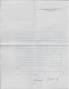 Lettre signée. GASQUET Marie