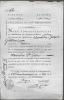 Certificat de non-émigration. MAGNAN