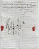Lettre autographe signée. DALMAS Joseph Benoit