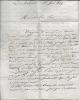 Lettres autographse signées. DIGOINE DU PALAIS