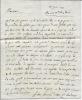 Lettre autographe signée. AZAN Frère Léon Honoré d'