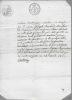 Certificat de prisonnier. Avignon