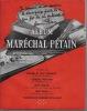 Album du Maréchal Pétain.