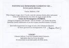Pontificale romanum Clementis VIII. Clementis VIII