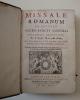 Missale romanum ex decreto Sacro-Sancti concilii Tridentini restitutum..