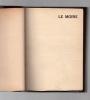Le Moine. ARTAUD Antonin