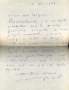 1883 - 1954. Romancier. Prix Goncourt en 1927. L.A.S. datée 5 décembre 1938.. BEDEL Maurice