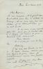 1885 - 1948. Romancier. Membre de l'Académie Goncourt en 1938 qu'il dut quitter après la guerre, en 1945. 2 L.A.S. datées 6 et 13 février 1928 à un ...