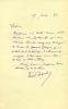 1861 - 1949. Romancier. Un de ceux qui soutinrent fortement Céline lors du fameux prix Goncourt. 4 L.A.S. . DESCAVES Lucien