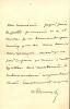 Dumas fils 1824 - 1895. L.A.S. . DUMAS Alexandre