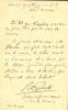 1864 - 1944. Écrivain, conservateur du Palais de Fontainebleau. L.A.S. et C.A.S.. ESPARBES Georges d'
