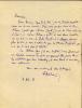 1873 - 1934. Poète et humoriste.L.A.S. datée 4 février 1933. FRANC-NOHAIN