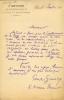 1855 - 1932 Journaliste, critique dramatique et musical. 8 L.A.S. . GINISTY Paul