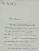1869 - ? Historien, Académie française en 1922. 3 L.A.S. . GOYAU Georges