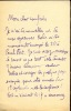 1872 - 1945. Littérateur, fondateur avec Lugné-Poë du théâtre de l'œuvre en 1893. L.A.S. . MAUCLAIR Camille