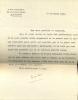 1831 - 1897. Auteur dramatique. Il est l'auteur de l'opérette Frou-Frou. 9 L.A.S. et 1 carte A.S.. MEILHAC Henri