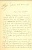 1882 - ?. Littérateur et poète. L.A.S. . PRAVIEL Armand