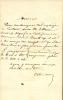 1815 - 1891. Lettre autographe signée.. MEISSONIER Ernest
