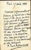 1824 - 1898. Peintre.Lettre autographe signée.. PUVIS DE CHAVANNES Pierre