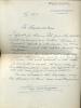 1881 - 1970. Peintre.Lettre autographe signée.. WAROQUIER Henri de