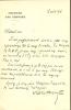 1861 - 1936. Homme politique, diplomate et sociologue. Lettre autographe signée.. BENOIST Charles