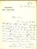 1859 - 1943. Homme politique, il fut Président de la République de 1920 à 1924.  Lettre autographe signée.. MILLERAND Etienne Alexandre