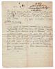 3 L.A.S. de l'abbé de La Bordere, résidant à Versailles, datées 25 juin 1767, 3 juillet 1783 et 20 mai (?).  Lettre autographe signée.. LA BORDERE ...