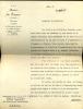 1860 - 1934. Homme d'État.  Lettre  signée.. POINCARRÉ Raymond