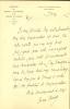 Conservateur au Louvre. 2 lettres autographes signées.. VERNE Henri