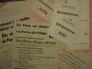 ALGÉRIE. Dossier concernant l'Algérie.