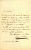 1815 - 1888. Auteur dramatique. Lettre autographe signée.. LABICHE Eugène