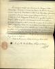 3 pièces dont 1 signée. Cardinal français, né à Luçon en 1752, mort à Paris en 1829. Évêque de Nancy (1787), Député à l'Assemblée Nationale en 1789, ...