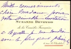 1867 - 1954. Actrice, elle joua à l'Odéon en 1892, au théâtre Antoine en 1898, à l'Œuvre, à l'Ambigu avant de rejoindre la Comédie-Française en 1907 ...