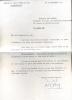 1916 - 1987. Romancier. Lettre signée.. SAINT-PIERRE Michel de