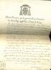 Évêque de Luçon.   Lettre signée.. SOYER René-François