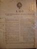 Loi qui accorde au ministre de la marine une somme de .... Impression d'Aix-en-Provence - 1791