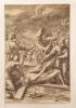 Le Christ attaché. D'une suite de 8 pièces, gravées d'après C. Schwartz.. SADELER Johannes